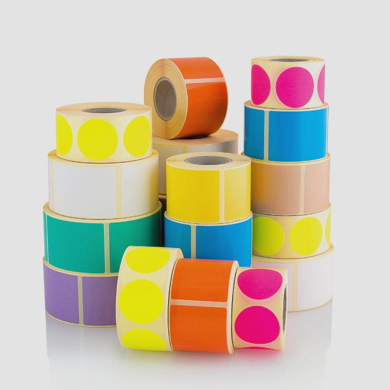 Etykiety kolorowe 1